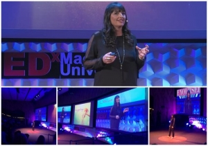 TEDx speaker Catriona Pollard