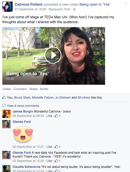 Catriona Pollard on Facebook