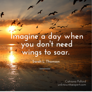 Imagine a day when you don't need wings to soar